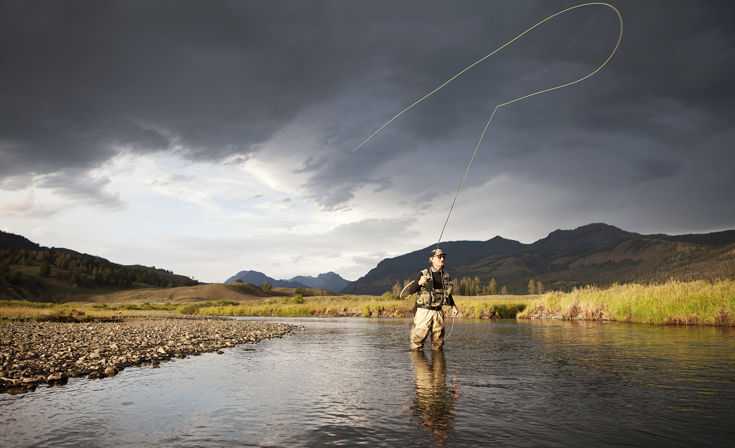 Tierra del fuego fly fishing al fin del mundo revista for Rio fly fishing